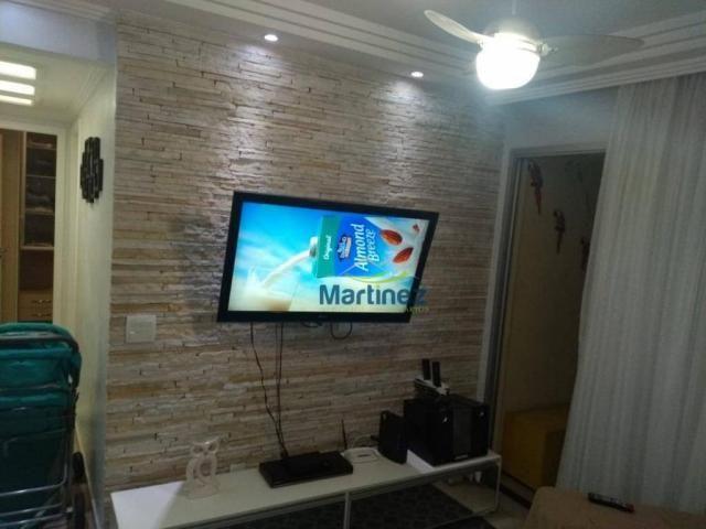 Apartamento com 2 dormitórios à venda, 56 m² por r$ 265.000 - vila alpina - são paulo/sp - Foto 2