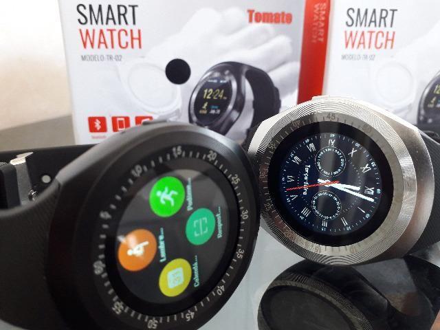 Relógio Celular Inteligente Smartwatch Bluetooth faz ligação