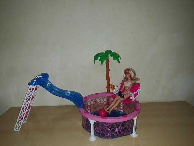 Piscina e carro da Barbie - Foto 2