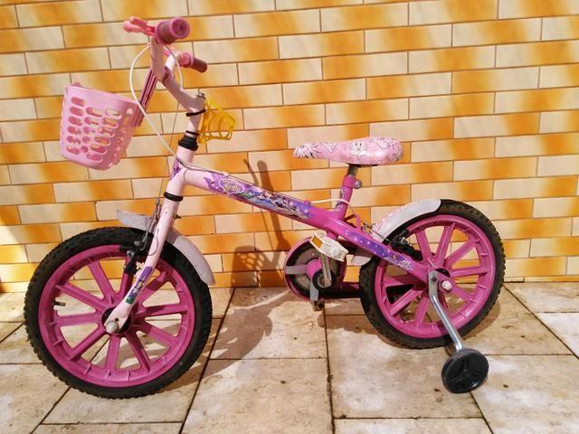 Bicicleta Caloi menina