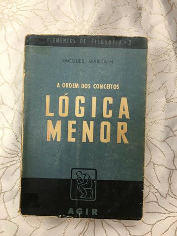 Lógica Menor - Jacques Maritain - 1953