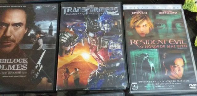 Lote com vários filmes em dvd Original - Foto 2