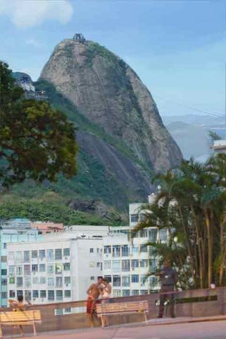 3 Quartos - Botafogo - Vista p/ Cristo e Pão de Açúcar - Andar alto - Foto 16