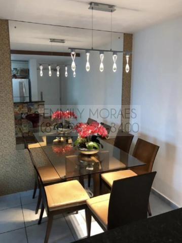 Imperial Park - 3/4 sendo 1 suíte - Cozinha Planejada + forno, cooktop e coifa - VP1501 - Foto 2