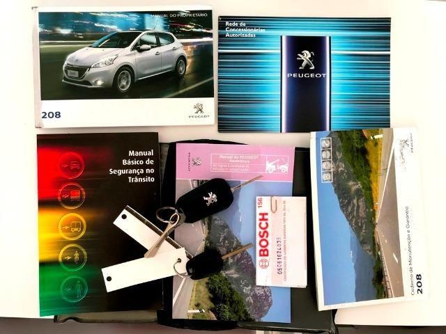 Peugeot 208 Allure 1.5 Manual 2014 Completo + Teto Panorâmico + central Multimídia - Foto 20