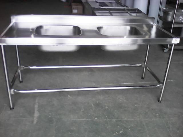 Mesa/pia com duas cubas(em estoque)fabricação própria!! - Foto 3