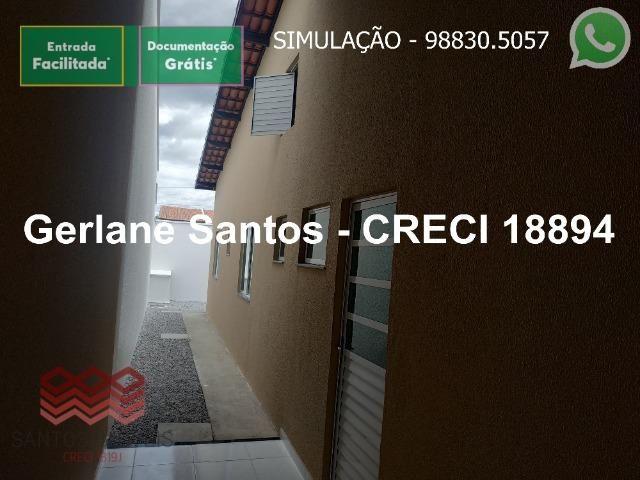 Escritura Grátis Casa 02 Quartos, 2 banheiros, 2 garagens - Foto 15