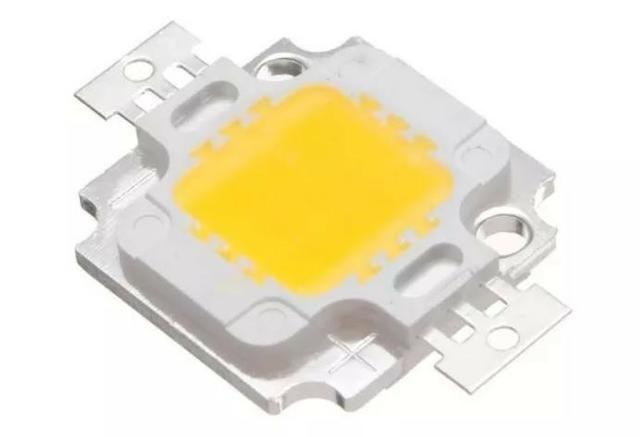 COD-CP220 KIT 2 Unid. Super Power Led 10w Branco Quente 3000~3200k Arduino