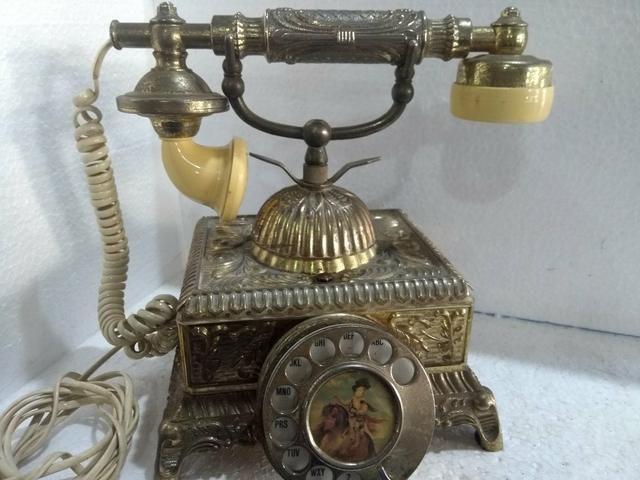 Telefone antigo Bronze