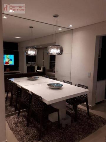 Apartamento com 3 dormitórios à venda, 92 m² por r$ 699.000 - vila augusta - guarulhos/sp - Foto 2