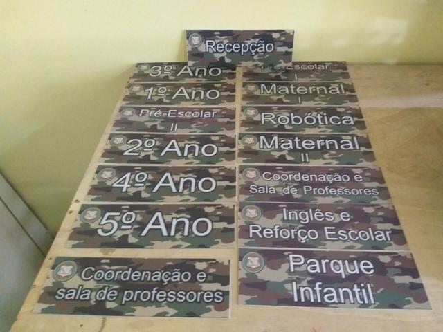 Fazemos placas de ps adesivadas. - Foto 3