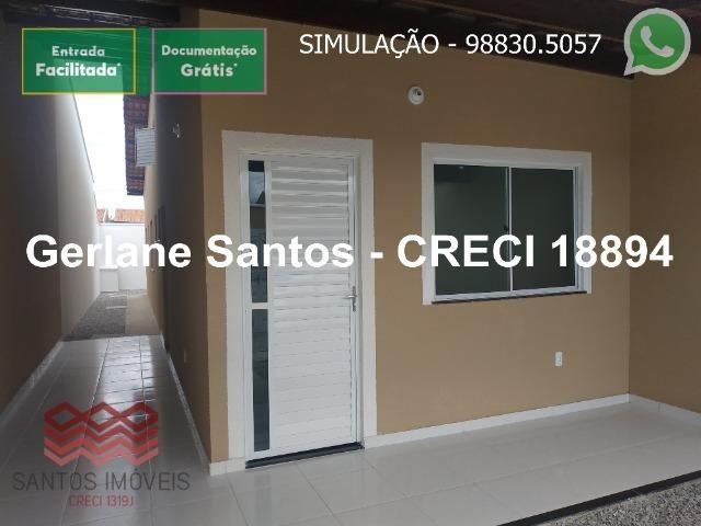 Escritura Grátis Casa 02 Quartos, 2 banheiros, 2 garagens - Foto 6