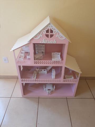 Casa Barbie Grande 1,20 de Altura - Foto 3