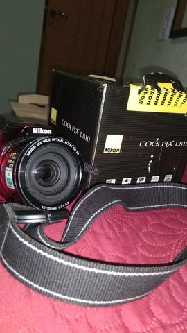 Câmera digital fotográfica , Nikon Coolpix L810