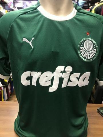 9112efb1e8e Camisa Palmeiras I 19 20 s n° - Torcedor Puma Patch Masculina ...