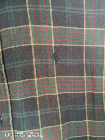 Duas lindas camisas de tecido Polo Ralph Lauren  - Foto 4
