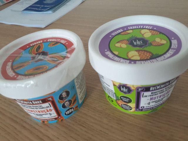Manteiga vegetal para os cabelos, pote 100 g, nutrição e tratamento  - Foto 2