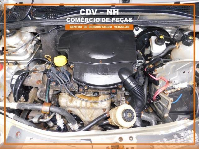 Sucata Renault Logan 1.6 106cv Flex 2013 (Somente Peças) - Foto 3
