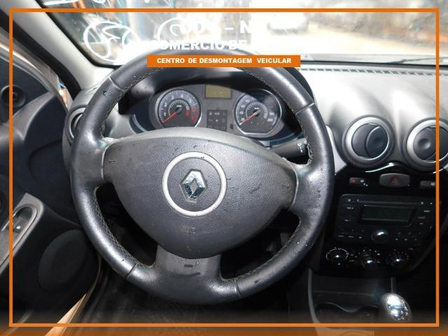Sucata Renault Logan 1.6 106cv Flex 2013 (Somente Peças) - Foto 6