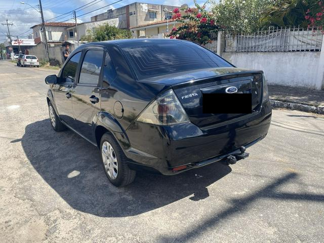 Fiesta SE 1.6 sedan completo manual chave reserva - Foto 3