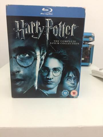 Box Harry Potter em Inglês Blu-Ray