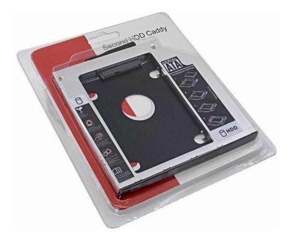 Case caddy Adaptador Dvd Para Hd Ou Ssd Notebook Drive Caddy 12.7mm - Foto 2