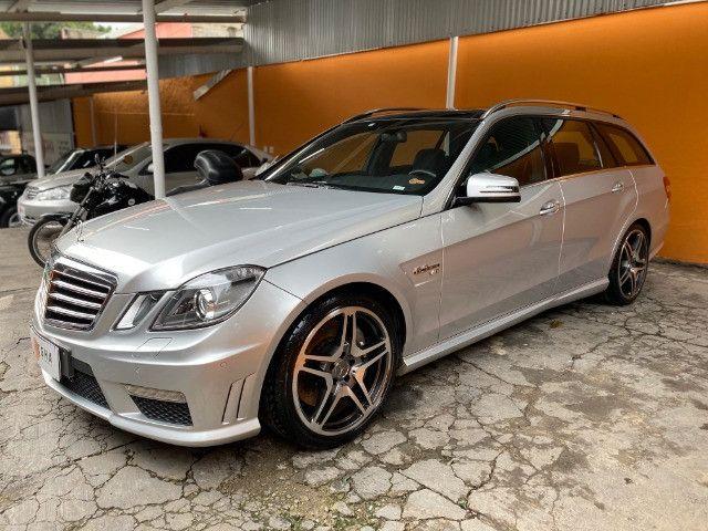 Mercedes Benz E63 AMG Touring 2010/2010 - V8 Aspirado, 525 hp, impecável! - Foto 5