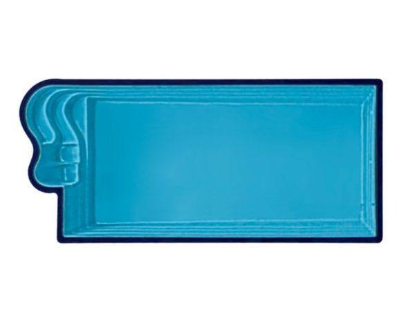 MB - Oferta da semana -Piscina de Fibra 7,00x3,20 com filtro e bomba - Instalada - Foto 4