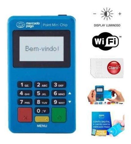 Promoção máquinas de cartão Mini Chip pronta entrega