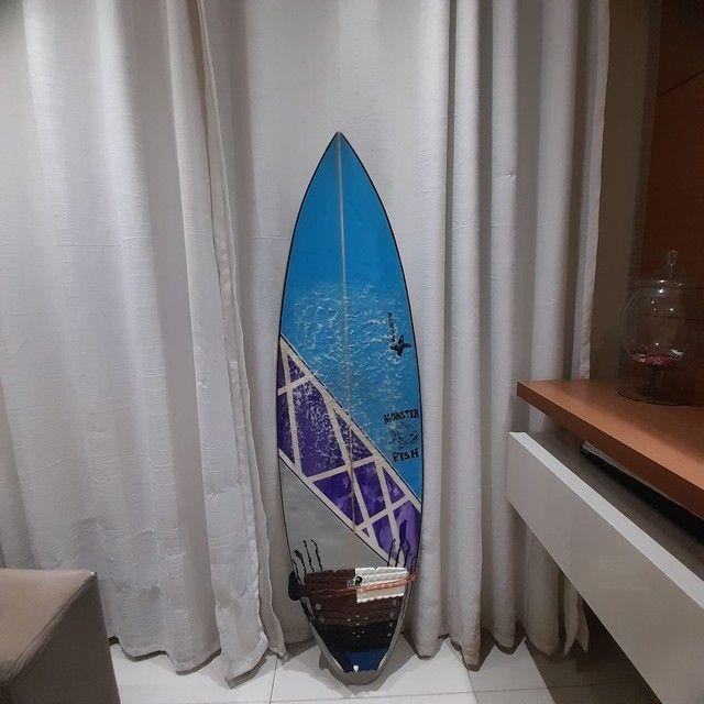 Prancha de surf 5.3 troco por 5.7