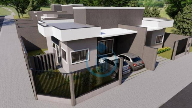 Casa com 2 dormitório à venda, 64 m² por R$ 225.000 - Sao Caetano - Foz do Iguaçu/PR - Foto 6