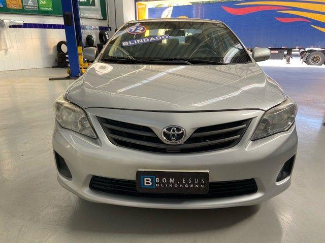 Corolla GLi 1.8 Flex aut. 2012 BLINDADO - Foto 2