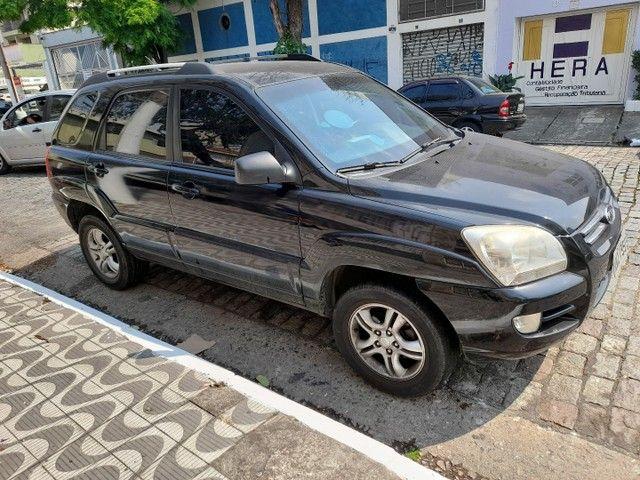 sportage lx 2.0 gasolina automatica  preta  2008  blindada - Foto 15
