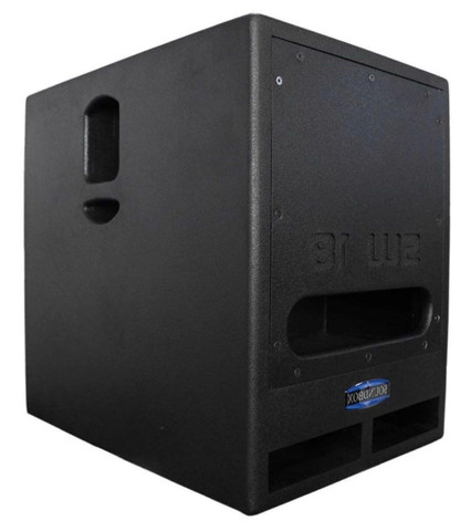 "Sub grave Sondbox 02(01 ativo+01 passivo) 18"",1000w - Foto 3"