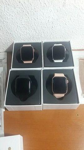 Smartwatch W26 pro 26+ original top de linha - Foto 4