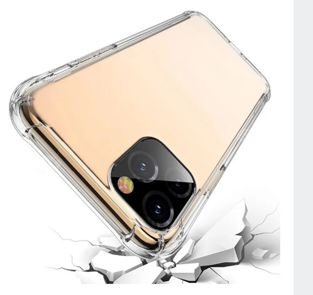 Case / Capinha Transparente iPhone 12 (6.1) Clear Case (Aceito cartão)
