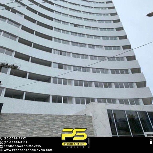 Apartamento com 2 dormitórios à venda, 64 m² por R$ 375.000 - Miramar - João Pessoa/PB - Foto 2
