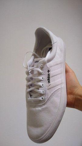 Tênis Adidas 3mc Vulc Branco novo na caixa - Foto 2