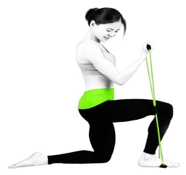 Elástico de Tensão para Exercícios de Vários Grupos Musculares - Foto 3