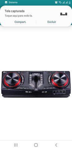 Mini system LG  XBOOM 1800w - Foto 4
