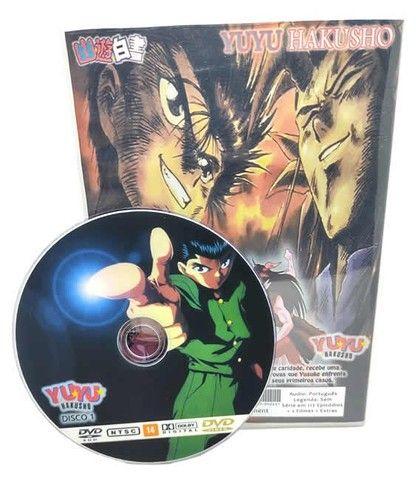Box Dvd Yuyu Hakusho Completo Dublado + Filmes + Ovas + Extras - Foto 2