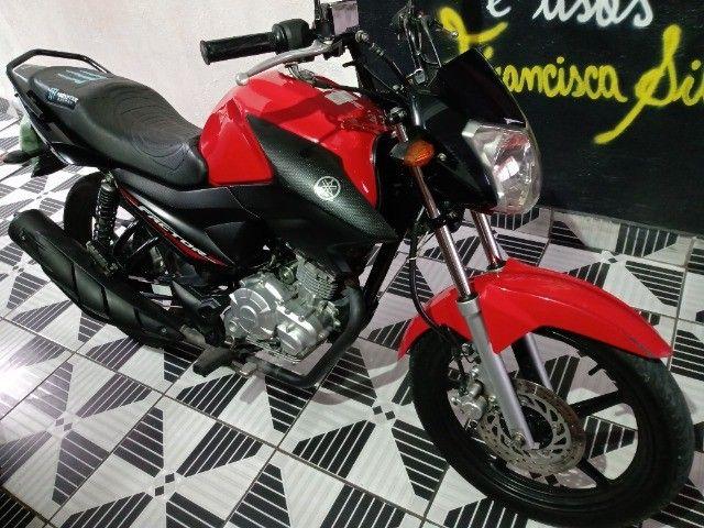 Vendo ou troca por Crossi ou Bros 2015 Yamaha fector ED 125 2017 2018 VL 7.500   - Foto 9