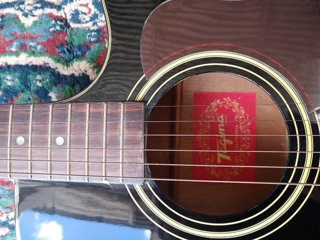 Violão ( tagima california ) acoustico elétrico  - Foto 5
