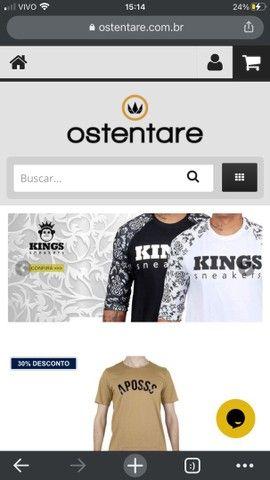 Vendo Loja On-line OSTENTARE
