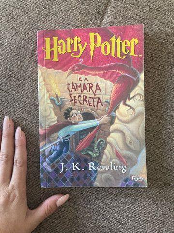 Harry Potter e a câmara secreta- livro