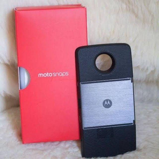 Snap projetor Moto Z2 play - Foto 2