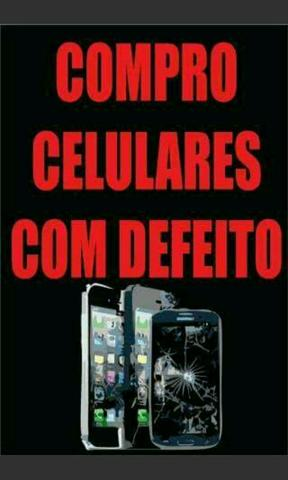 C/ celular defeito no Touch ou Display