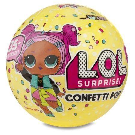 Nova Boneca Lol Surprise Confetti Pop - Importada Dos Eua
