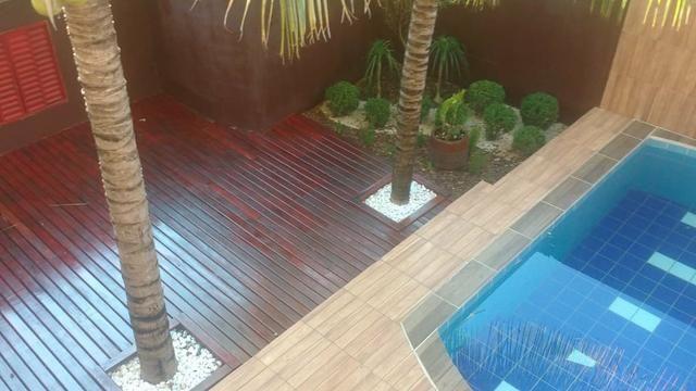 Casa com piscina sala de comércio barraco de aluguel - Foto 10