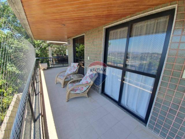 Apartamento com 3 dormitórios à venda, 130 m² por r$ 800.000 - jardim guanabara - rio de j - Foto 4